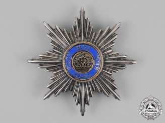 Prussia, State. A Royal Order of the Crown, First Class Star, by Johann Wagner & Sohn, c.1900
