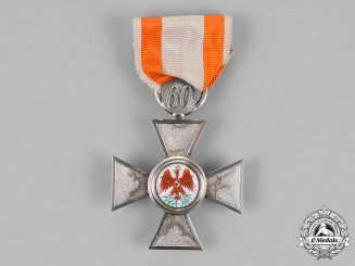 Prussia, State. An Order of the Red Eagle, Fourth Class, with 60-Year Jubilee Clasp