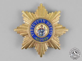 Saxony, Kingdom. A Military Order of St. Henry, Commander's Star, c.1914