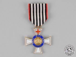 Prussia, State. A Royal Order of the Crown in Gold, Third Class, with Genfer Cross