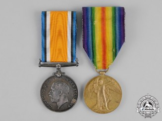 Canada. A Medal Pair, to Sapper John France, Canadian Engineers