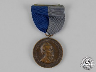 United States. An Army Civil War Campaign Medal, Company B, 106th Infantry Regiment, Illinois Volunteers