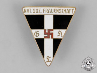 Germany. A National Socialist Women's League Membership. A Large Membership Badge, by Alfred Stubbe