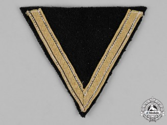 Germany, Waffen-SS. A Tropical Sturmmann Rank Chevron