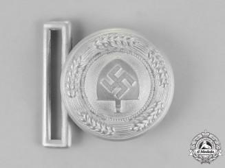 Germany, RAD. A National Labour Service Leader's Service Belt Buckle, by F.W. Assmann & Söhne