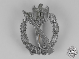 Germany, Wehrmacht. An Infantry Assault Badge, by Werner Redo