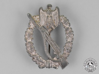 Germany, Wehrmacht. An Infantry Assault Badge, by an Unknown Maker