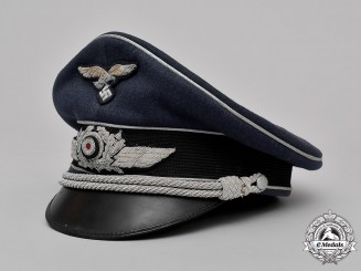 Germany, Luftwaffe. An Officer's Visor Cap