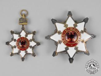 Albania, Principality. An Order of the Black Eagle, 1st Class Grand Cross, c.1913