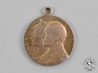 Prussia, State. A Silver Jubilee Remembrance Medal, c. 1906