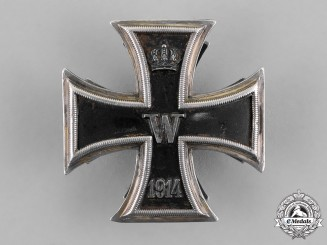 Germany, Empire. A Fine Iron Cross 1914 First Class; Screwback Version