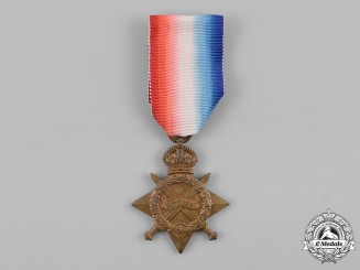 Canada. A First War 1914-15 Star, to Sergeant Charles Henry Sutton, Royal Canadian Dragoons