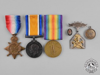 Canada. A Medal Group to Acting Sergeant Mellon, 1st Divisional Signal Company Canadian Engineers