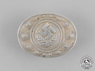 Germany, RADwJ. A National Labour Service of the Female Youths Service Brooch, by Assmann
