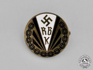 Germany. A Membership Pin for National Association for the Physically Handicapped