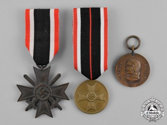 Germany. A Grouping of Three Medals, Awards, and Decorations