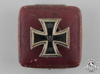 Germany, Empire. An Unusual Iron Cross 1914 First Class, Cased