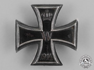 "Germany, Empire. An Iron Cross 1914 First Class, ""900"" Marked"