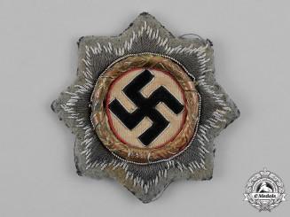 Germany, SS. A General Court von Gotteberg,  DKiG, With Rare SS/Assault Gun 'Grey' Cloth Backing