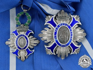 Spain. An Order of Civil Merit, Grand Cross Set