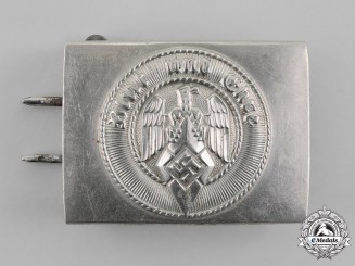 Germany, HJ. A Standard Issue Belt Buckle, by F.W. Assmann & Söhne