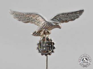 Germany. A Civilian Luftwaffe Flak Helper's Stick Pin