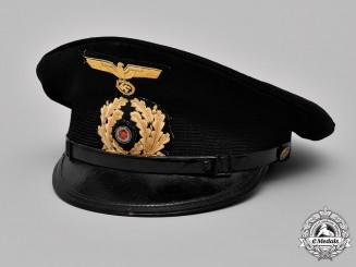 Germany, Kriegsmarine. An NCO's Visor Cap