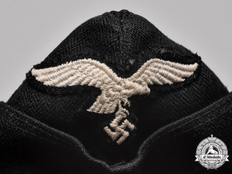Germany, Luftwaffe. A Mechanic & Flak Helper Overseas Cap, c. 1937