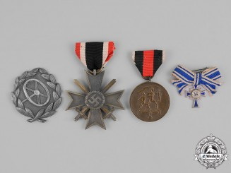 Germany. A Grouping of Four Medals, Awards, and Decorations