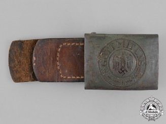 Germany, Wehrmacht. A Standard Issue Belt Buckle
