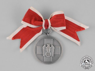Germany. A Social Welfare Medal, Mounted onto a Ladies Ribbon
