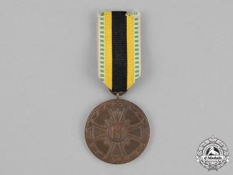 Saxe-Meiningen, . A First War Service Medal, c. 1915