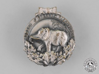 "Germany. A German Colonial ""Elephant"" Honor Badge"