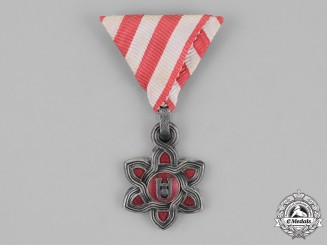 Croatia, Independent State. An Order of Merit, Third Class Badge, c.1942