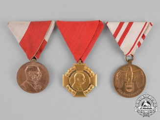 Austria. Three Commemorative Medals