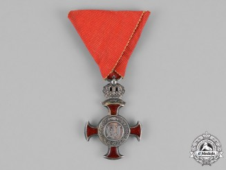 "Austria. A Merit Cross ""1849"", 3rd Class, 2nd Period (1875-1914)"