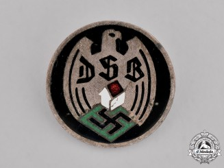 "Germany. A DSB ""German League of Homeowners"" Membership Badge"