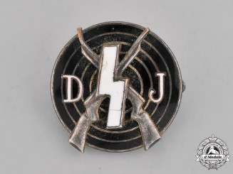 Germany. A DJ Marksmanship Badge, by Deschler & Sohn
