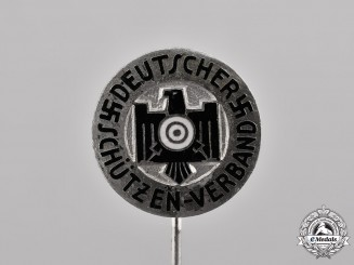 Germany. A German Marksman Association Stick Pin