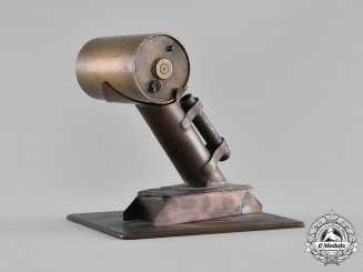 Canada. A Depth Charge Thrower Model with Letter