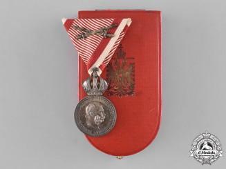 Austria, Imperial. A Military Merit Medal, Silver Grade, Franz Joseph