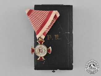 Austria, Empire. A Golden Merit Cross, c.1917