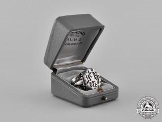 Germany, Luftwaffe. A Ring Belonging to High Scoring Ace, Erich Rudorffer