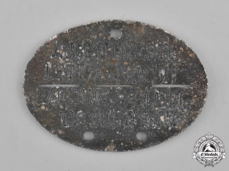 Germany. A Latvian SS Volunteer Divsion Identification Tag