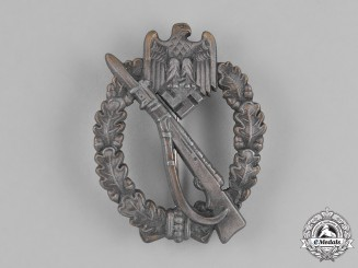 Germany, Wehrmacht. A Mint Bronze Grade Infantry Badge, by Josef Feix & Söhne