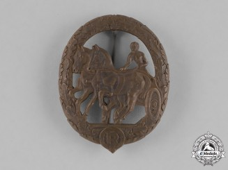 "Germany. A Bronze Grade Horse ""Driver"" Badge by Steinhauer & Lück, Lüdenscheid"