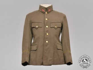 Japan, Imperial Army. A Japanese Lieutenant Tunic, ca. 1939-1945