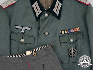 Germany, Heer. An Army Panzer Major's Uniform