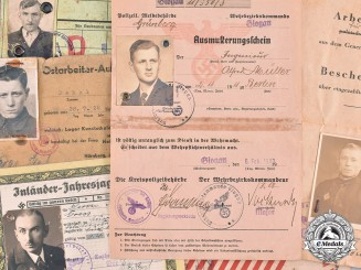 Germany, Third Reich. A Collection of Third Reich Period Identification Documents