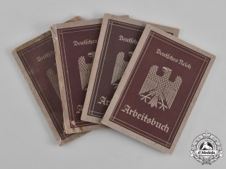Germany, Third Reich. A Lot of German Labour Books